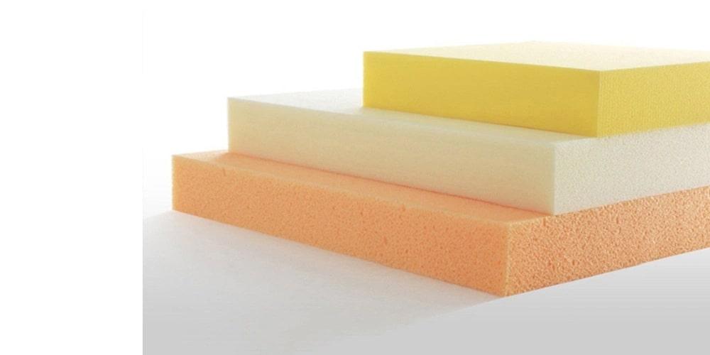 Mousse PU Foam, vật liệu chế tạo nệm cao su non
